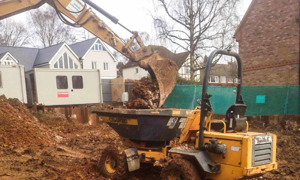 site clearance hertfordshire